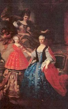 1755 Maria Antonia Borbone by Giuseppe Dupra