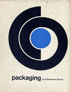 What a fantastic cover for a survey report, which I'm sure you can appreciate can be slightly boring content (and I'm a data analyst, so I say this with full awareness). Looks decidedly 60s-70s, with just the right amount of minimalism. I also like the hint of yin-and-yang, if maybe not so clear on the relevance to packaging.