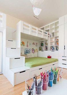 c2d312b918f Οι 30 καλύτερες εικόνες του πίνακα κρεβάτια | Child room, Ikea hacks ...