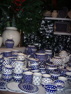 Polish Pottery- I'm in love with this stuff. Slowly growing my collection!!!