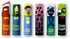 So cute. Would buy these just for the packaging. Reminds me a little of Pez. What do you thing peeps?