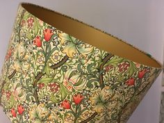 William Morris 'Golden Lily' handmade lampshade - various sizes by BrightenUpUK on Etsy https://www.etsy.com/listing/248186889/william-morris-golden-lily-handmade