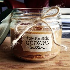 """Homemade """"Cookie"""" Butter! 
