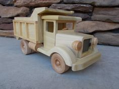 Wooden Dump Truck  Free shipping on 2nd by toymakerofsouthport, $54.00