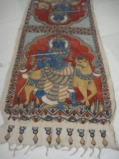 Indian Painting Styles...Kalamkari Paintings (Andhra Pradesh)-duppatta1-1-.jpg