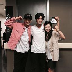 Hyung sik and go ara unni Park Hyung Sik Hwarang, Joon Hyung, Park Hyung Shik, Go Ara, Cute Celebrities, Korean Celebrities, Celebs, Asian Actors, Korean Actors
