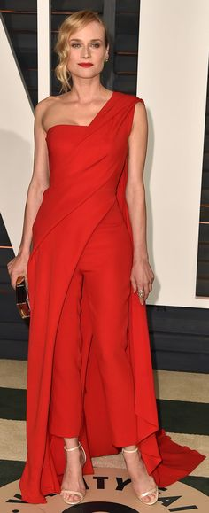 Diane Kruger's Dress at Oscars Afterparty 2015 | Jumpsuit
