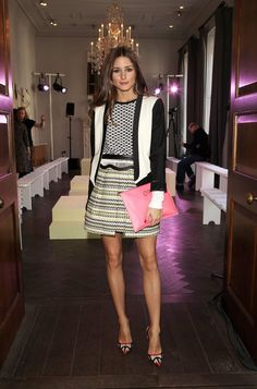 THE OLIVIA PALERMO LOOKBOOK: LFW 2013 : Olivia Palermo At Whistles Limited Edition