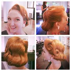 Perfect little pageboy / faux bob vintage style by me