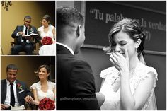 Sweet and tenderhearted bride gave way to tears during her vows at this Brooklyn, NY Kingdom Hall wedding  Photos by godburnphotos (Sue G.)