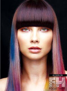 V Bangs, Thick Bangs, Madison Beer Bikini, Haircut And Color, Coloured Hair, Hair Cuts, Hair Styles, Earthy, Fisher