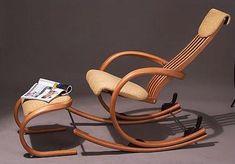 modern wood rocking chair - Google Search