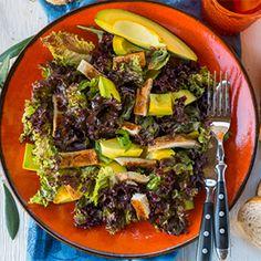Grilled Chicken and Avocado Salad #grillechickensalad
