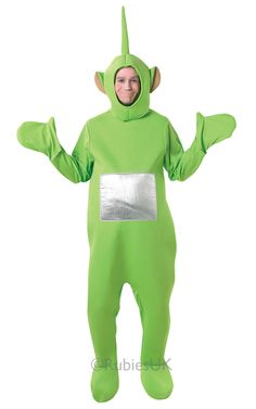 Great costume from one of the world's most famous kids shows, the teletubies Dipsy costume is already one of the most popular costumes in fancy dress.