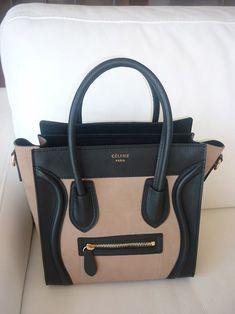 Celine. Tan and black, love it!