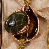 Bracelet~Enamel and Stone Bracelet~Fair trade through Folio Gothic Hippy~BR325