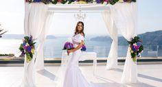 Vangelis Photography Destination wedding of Melanie and Iain Sept. Destination Wedding, Wedding Venues, Wedding Planning, Santorini Wedding, Amazing Decor, Wedding Flowers, Wedding Dresses, Mykonos, Ciel