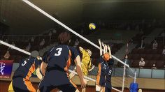 "#haikyuu ""nice save nishinoya!!!!"" - me fangirling in the stands ♡"