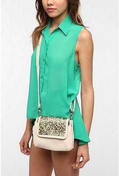UrbanOutfitters.com > Ecote Heavy Studded Crossbody Bag