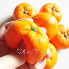 Orange fruit squishy