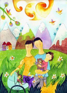 HOKATA - custom family portrait
