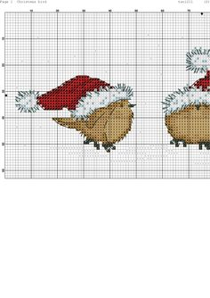 Christmas cross stitch pattern                                                                                                                                                                                 More