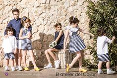Blog de moda infantil, vestido de rayas, estilo marinero, marcas moda infantil, la casita de martina, Atelier del Colibri Fashion Kids, Navy Style, Summer Kids, Mini, Dresses, Kids Fashion Blog, Clothing Branding, Fashion For Girls, Sailor Style