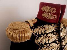 Dettaglio di uniforme da generale di divisione