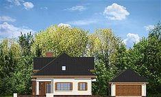 Projekt domu Filip 181,11 m2 - koszt budowy 191 tys. zł - EXTRADOM