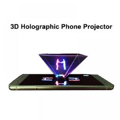 3D holographic phone projector displayer 3d screen  Price: $ 9.99 & FREE Shipping   #computers #shopping #electronics #home #garden #LED #mobiles Phone Projector, 3d Scanners, Shipping Packaging, Holographic, 3d Printer, Electronics Gadgets, Tech Gadgets, Free Shipping, Printers