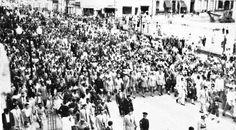 Día de la inauguración de la Av Urdaneta,domingo 29 de noviembre de 1953