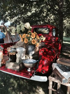 Red Truck Lemonade Stand
