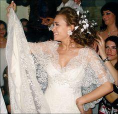 Actress Hend Sabry dress by Elie Saab