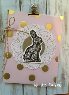 Thoughts That Stick..... : Bunny Love