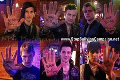 Crown the Empire <3 Stop bullying.