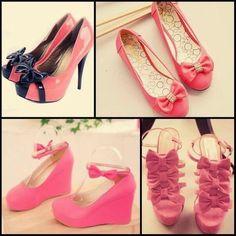 #pink #shoes #flats #heels