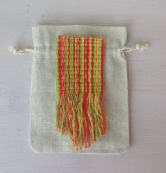 Mini weaving.  By Liz Padgham-major