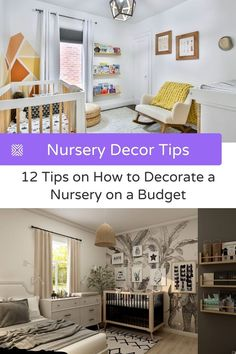 Decorating a nursery shouldn't cost you an arm or a leg, that's why we've made a list with our top 12 tips on how to decorate a nursery on a budget. Nursery Themes, Nursery Decor, Small Nurseries, Diy Projects Cans, Nursery Organization, Nursery Neutral, Woodland Nursery, Girl Nursery, Budgeting