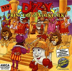 Dizzy Prince Of The Yolk Folk - Amiga 500