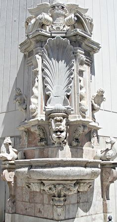 Messina | One of the four 17th century Quattro Fontane, no longer in its original location. Only one other has survived.