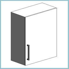 Houston Wall Unit 600mm (Autodesk Revit Architecture 2012 Families) - urBIM Revit Components
