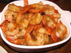 ... and a bottle of red tom rim caramel shrimp tom rim more food savory