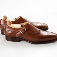 Maftei single monkstrap. A masterpiece from a great artisan.