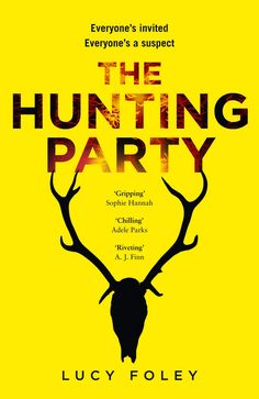 In A Book Shell: The Hunting Party by Lucy Foley