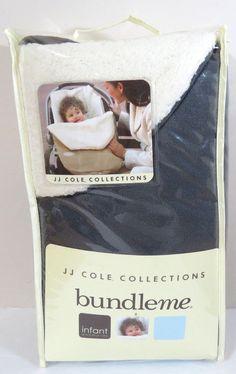 JJ Cole Original Infant Bundle Me, Graphite #JJColeCollections