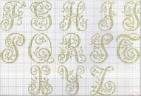 Alphabet cross stitch Part Cross Stitch Alphabet Patterns, Embroidery Alphabet, Cross Stitch Letters, Cross Stitch Love, Cross Stitch Pictures, Embroidery Monogram, Cross Stitch Samplers, Cross Stitch Charts, Cross Stitch Designs