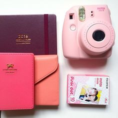 Stationery and Polaroid Accessories for Christmas