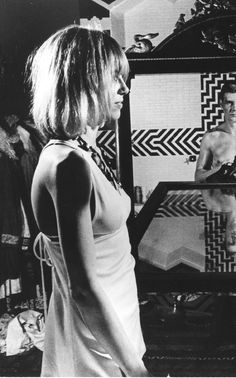 Anita Pallenberg @ Mick Jagger in Performance Anita Pallenberg, It's All Happening, She Walks In Beauty, Girls Slip, Jazz Artists, Twist And Shout, Italian Actress, Famous Girls, Style Icons