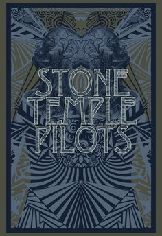 stone temple pilots concert posters - Google Search