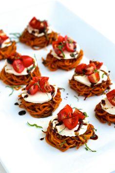 Sweet Potato Caprese Sliders | The Foodie Physician